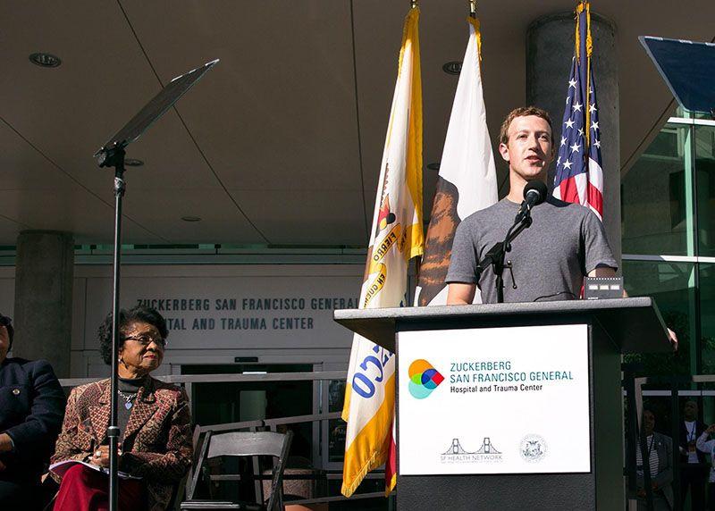 Zuckerberg San Francisco General