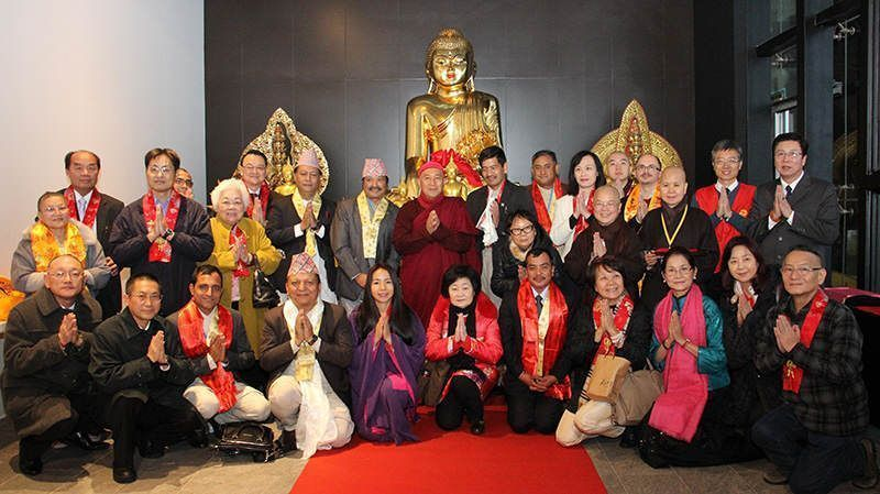 打造兩尊千手觀音佛像贈予靈鷲山,25日舉行捐贈儀式。