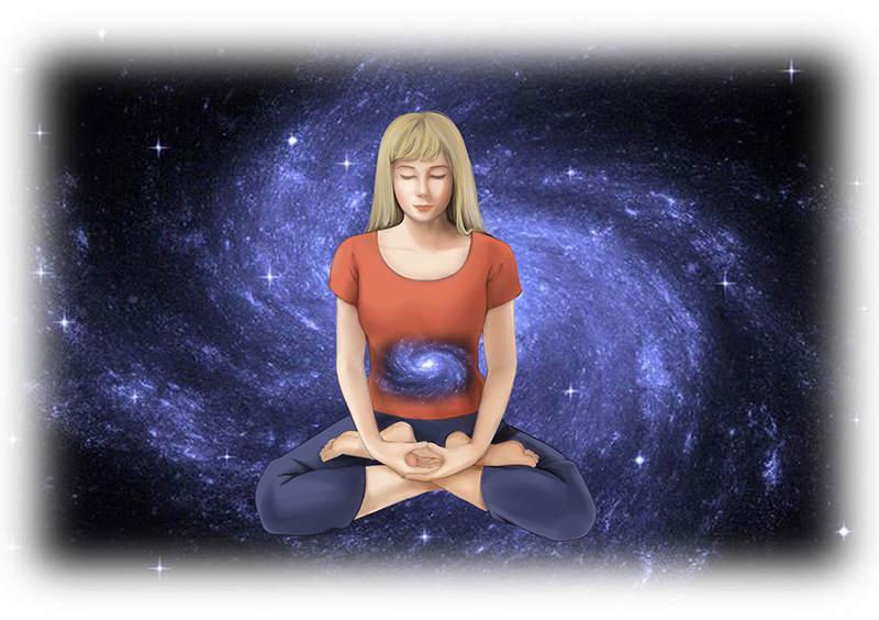 透過呼吸,我們可以共振到生命的內在。同時,可以讓念頭消逝。 長庚生技/提供
