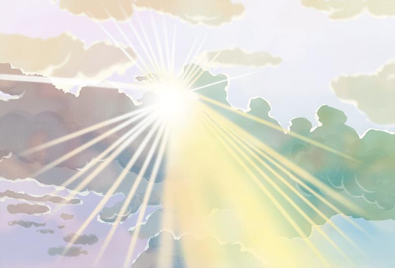 神聖的生命,也就好像不生不死的光,本來就存在。 長庚生技/提供