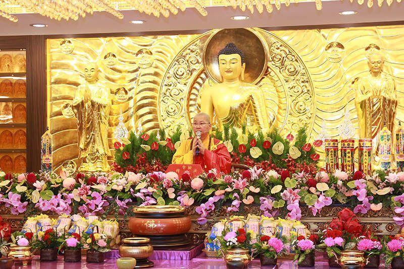 寬如法師於功德山15週年會慶舉辦大悲菩提法會開演妙法